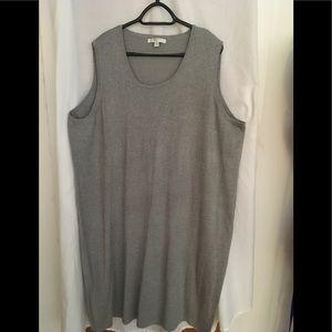 LizClaiborne grey knit dress size 3X